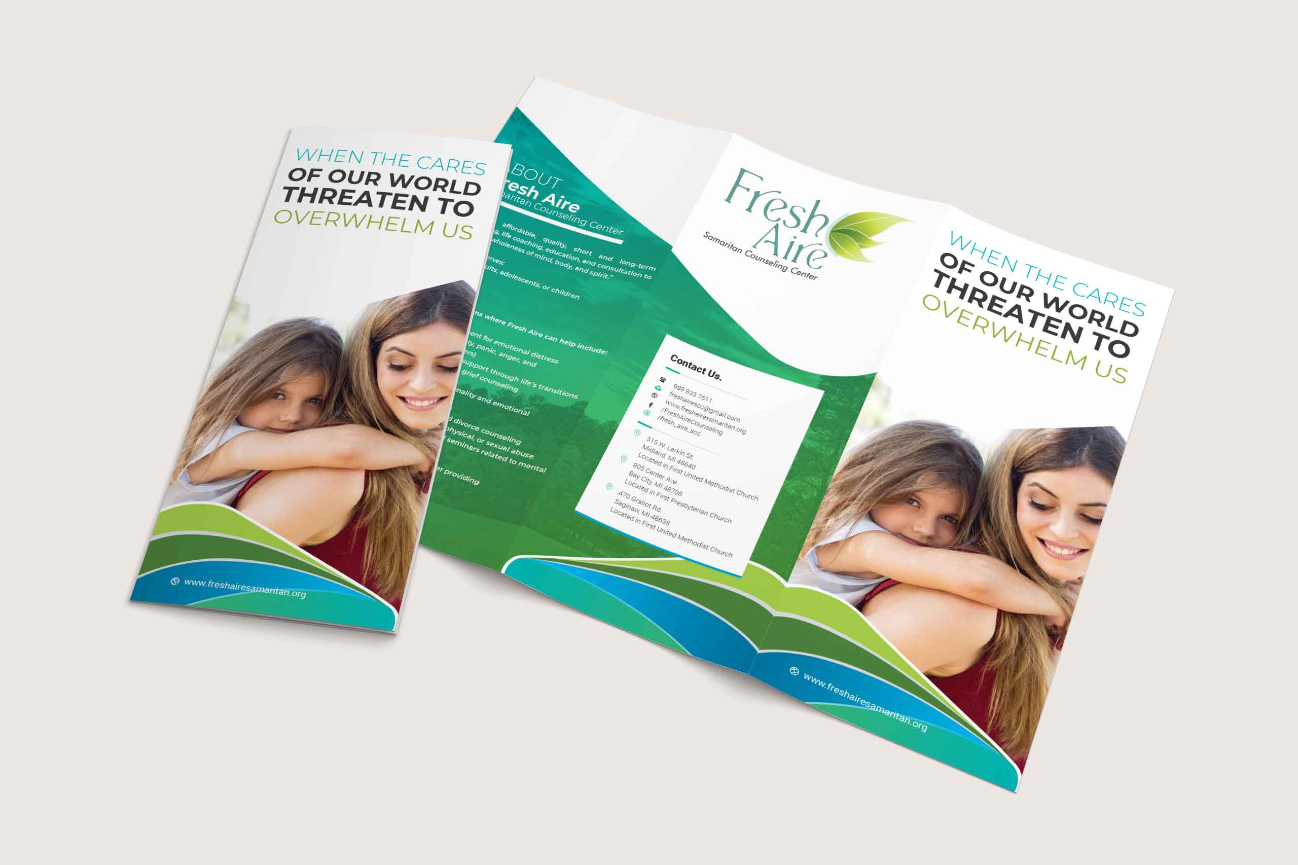 Fresh Aire Samaritan Counseling Center - Trifold by Ok Omni