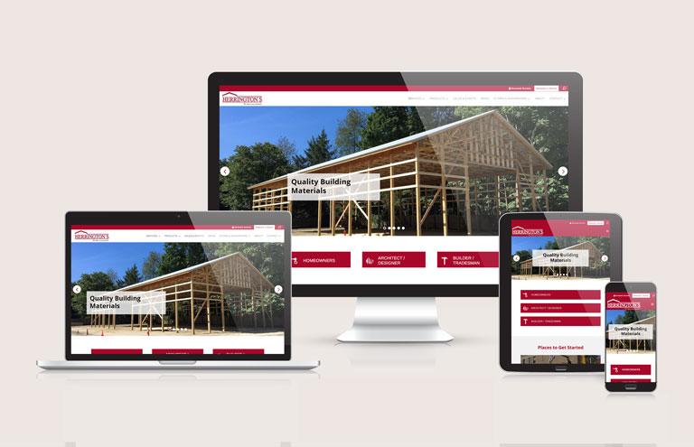 Herringtons - Responsive Website Design by Ok Omni